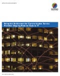 Enterprise Architecture for Communication Service Providers