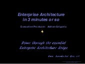 Presentation: Enterprise Architectu...