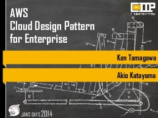 AWS Cloud Design Pattern for Enterprise