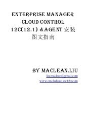 Enterprise manager cloud control 12...
