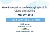 How Enterprises are leveraging Mobi...