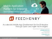 Enterprise Mobility Exchange: Accelerate Mobile App Enablement with Open and Agile Technologies