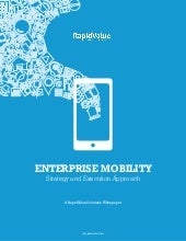 Enterprise mobility, strategy and execution approach