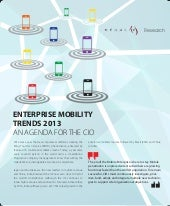 Enterprise mobility trends 2013
