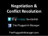 Negotiation Basics for B.E.S.T. Students
