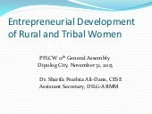Entrepreneurial development of rura...