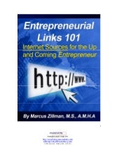 Entrepreneurial Links 101