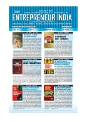Entrepreneur India magazine Novembe...
