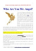 Entrepreneurs seeking angel investors read this article