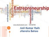 Entreprenuership: An Overview