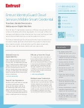 Entrust IdentityGuard Cloud Service...