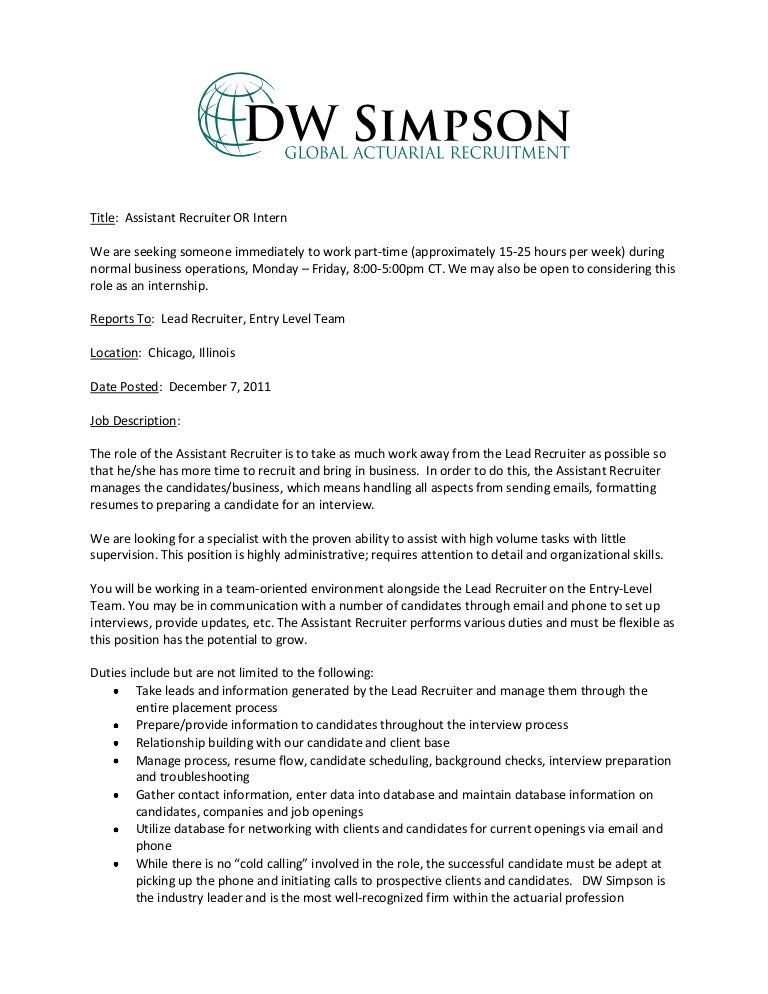 actuarial cover letter sample - Sample Actuary Resume