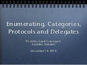 Enumerating categories protocols de...