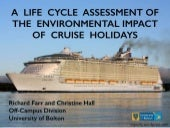 Environmental Impact of Cruise Holidays