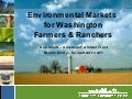 Environmental Markets in Washington State