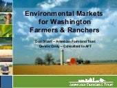 Environmental Markets in Washington...