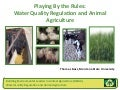 Water Quality Regulations and Animal Agriculture