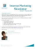 Internet Marketing Newsletter November 2011