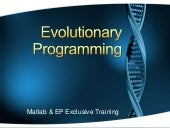 Evolutionary Programming