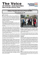 Ethnic Peoples Advisory Panel - New...