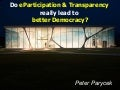eParticipation & Transparency