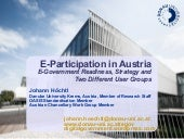 E-Participation in Austria