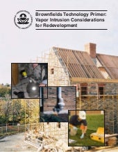 EPA -- Vapor Intrusion Consideratio...