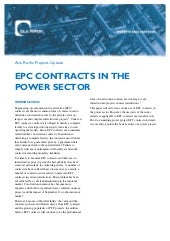 Epc contracts-in-the-power-sector