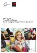 EPC – GSMA Trusted Service Manager Service Management Requirements and Specifications