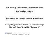 EPC Group SharePoint ROI Business V...