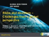 Risk and Disaster - Challenge from ...