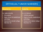 Epithelial tumor markers
