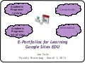Eportfolios faculty slideshare
