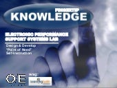 Fingertip Knowledge - Electronic Performance Support Systems