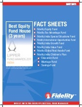 Fidelity Equity fact sheet