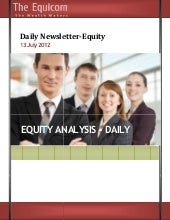 Equity tips and market analysis for...