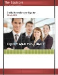 Equity tips and market analysis for 16 july