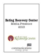 Eating Recovery Center 2013 Clipbook