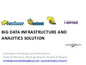 Big Data Infrastructure and Analyti...