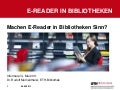 E-Reader in bibliotheken