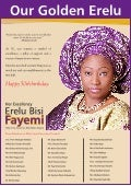 Erelu Fayemi is 50