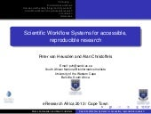 Scientific Workflow Systems for acc...