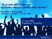 ErgoGroup - IT Puls 2008 - Christia...
