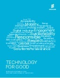 Ericsson Sustainability and Corporate Responsibility Report 2012