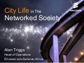Ericsson Presentation: City life in...