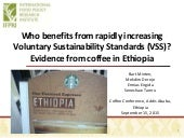 Who benefits from rapidly increasing Voluntary Sustainability Standards (VSS)? Evidence from coffee in Ethiopia