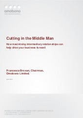 Cutting in the middle man: Intermed...