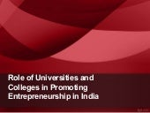 role of universitites and colleges ...