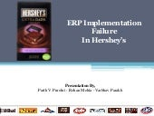 Erp failure- Implementation Failure Hershey Foods Corporation