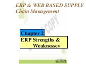 ERP: Strength and Weakness